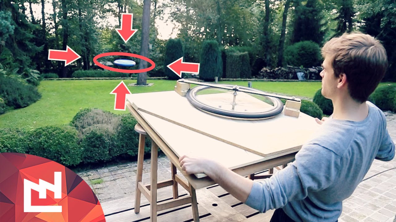 Project : Making A Frisbee Launcher