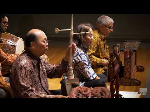 Gong-chime orchestra (gamelan), Indonesia (Central Java), 1840