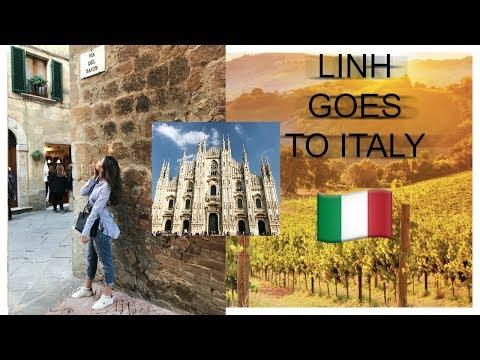 ITALY VLOG| DISCOVER BOTTEGA VERDE | MILAN, PIENZA, BIELLA (VIETSUB) || by THEMAKEAHOLICS