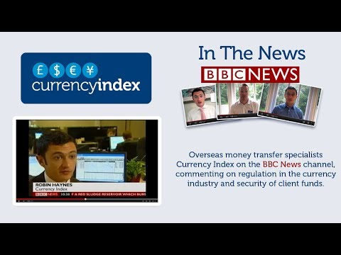 Currency Index on BBC News Channel, October 2010