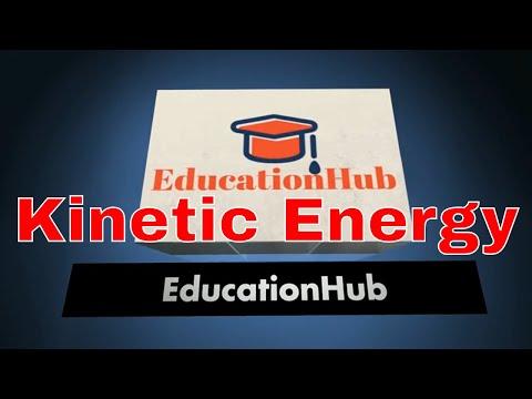 Kinetic Energy (Hindi) Class 9 IX NCERT | Work and Energy