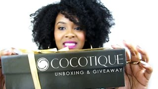 COCOTIQUE UNBOXING & GIVEAWAY