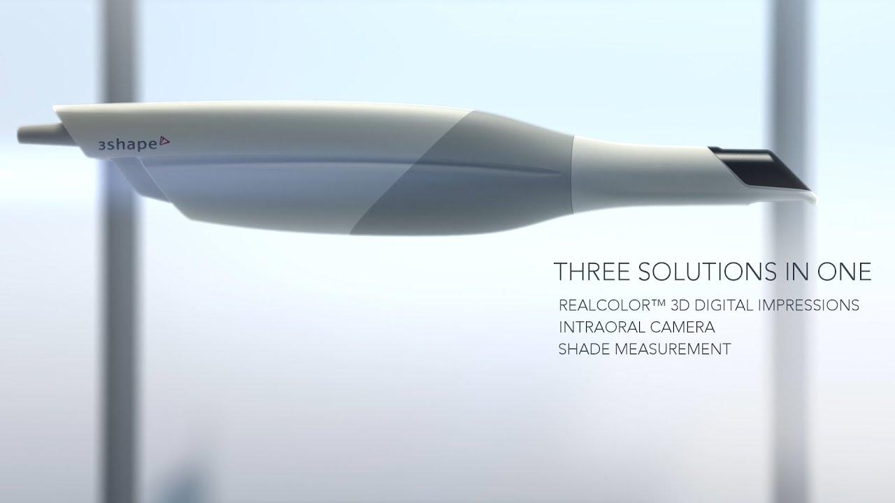 3Shape TRIOS® 3 - a three in one digital impression solution - YouTube
