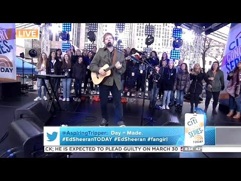 Ed Sheeran - Shape Of You - Today Show