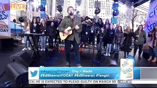 Ed Sheeran Shape Of You Today Show
