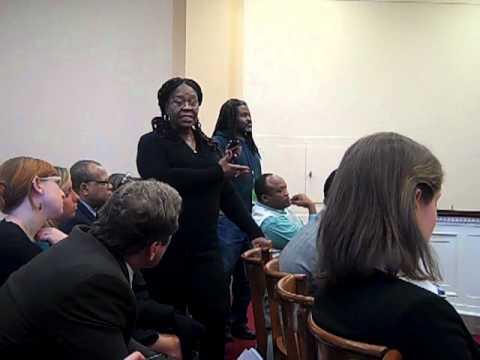 March 2 Congressional Briefing on D.R. Congo - Congolese Senator Bernadette Mafuta Nkoy's Comments