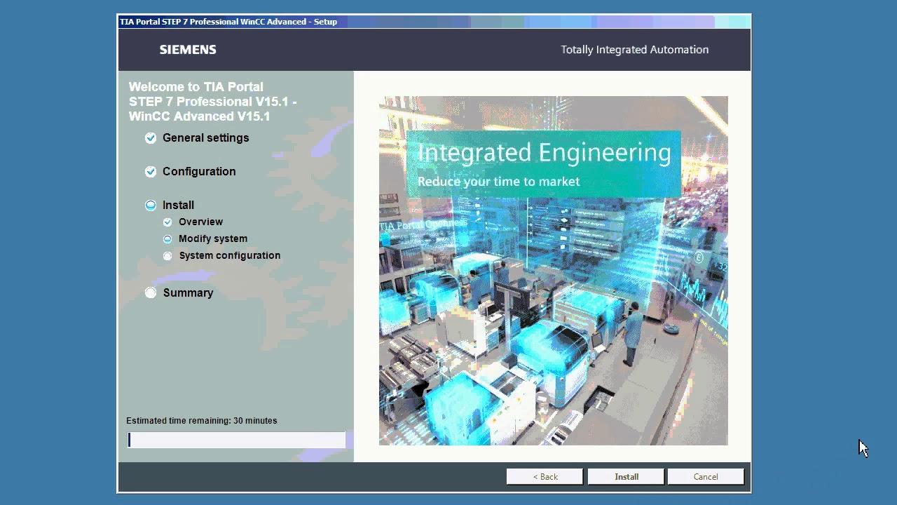Instalace TIA Portal V15 1 - STEP7, WinCC / TIA Portal V15 1 installation  STEP7, WinCC
