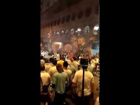 Hong Kong - Tai Hang Fire dragon dance 2015