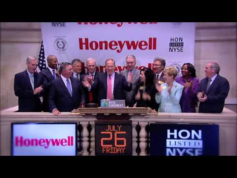 Honeywell Chairman and CEO Dave Cote Visits the NYSE