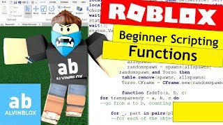 How To Script On Roblox For Beginners - Functions, Parameters & Arguments - Episode 9