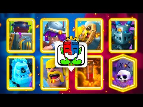 Is This The BEST GRAVEYARD Deck For 20 Wins In Clash Royale?!
