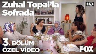 Kayınvalidelerden yemek yorumları... Zuhal Topal'la Sofrada 3. Bölüm