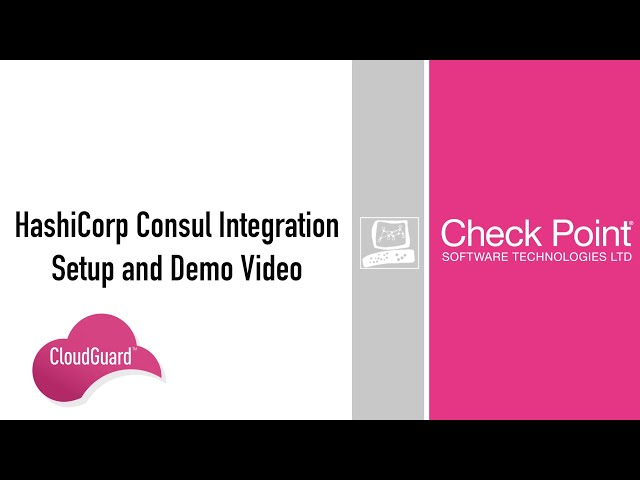 HashiCorp Consul Integration – Setup and Demo