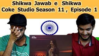 Indian reaction on Shikwa Jawab-e-Shikwa | Coke Studio Season 11 | Episode 1 | Swaggy d
