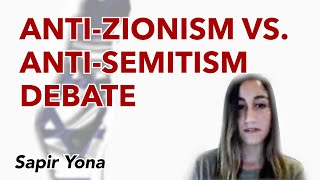 The Anti-Zionism vs. Anti-Semitism Debate