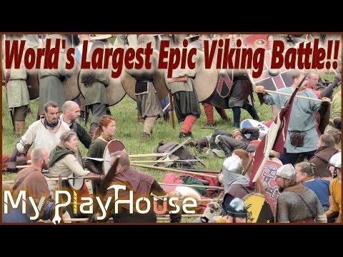 Vikings: World's Largest Epic Viking Battle - 570 Reenactors - 387