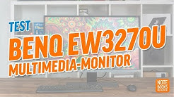 BenQ EW3270U Test - Deutsch / German ►► notebooksbilliger.de