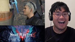 Devil May Cry 5 Gamescom 2018 Trailer Reaction