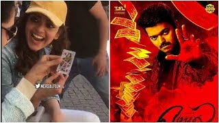 Kajal Agarwal Mersal shooting spot Card Magic -Magician Vijay gonna enthrall us