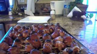 Bacon Wrapped Apricots... So Amazing