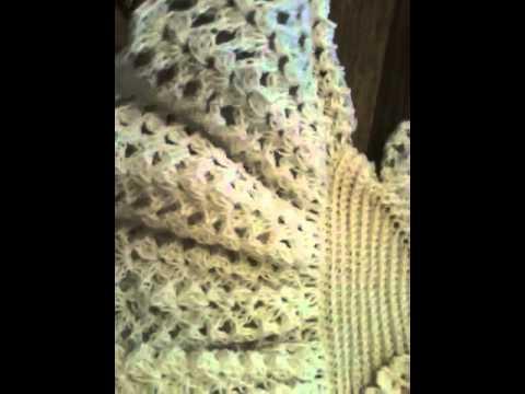 Crochet Ruffled Baby Dress Youtube