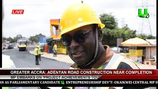 Adentan Road Construction Near Completion