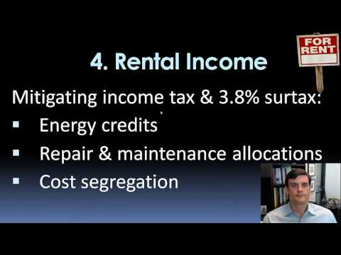 Tax Mitigation for Incomes $200k/y +