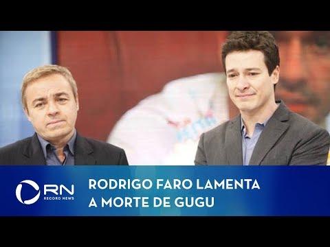 Rodrigo Faro lamenta a morte de Gugu Liberato