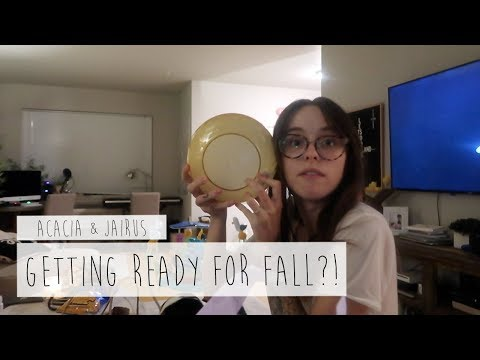 GETTING READY FOR FALL?! | ACACIA & JAIRUS