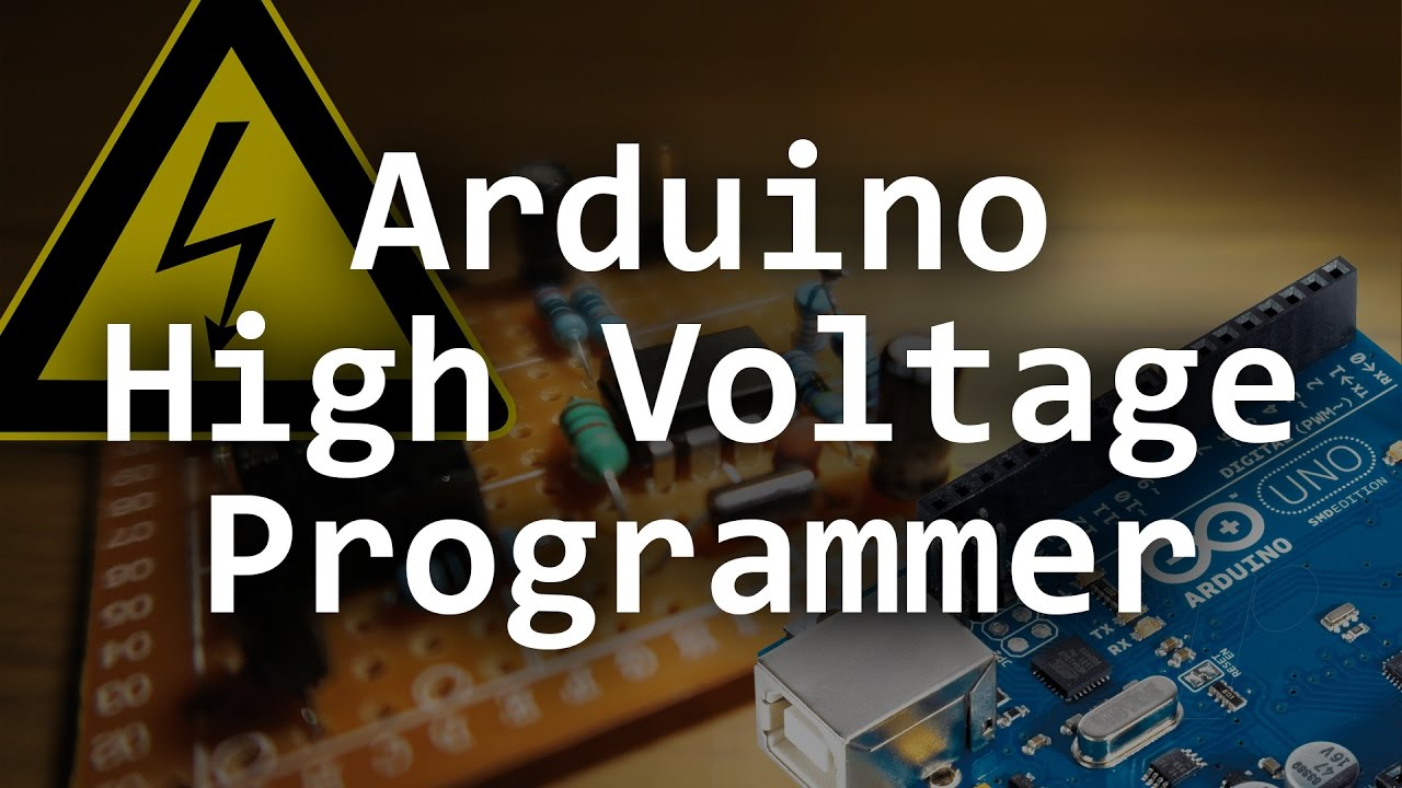 Arduino Based High Voltage Serial Programmer Youtube