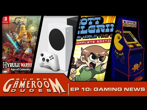 Hyrule Warriors, Scott Pilgrim, XBox Series X, Arcade1Up! - Super GameRoom Dudes - Ep. 10 from MichaelBtheGameGenie