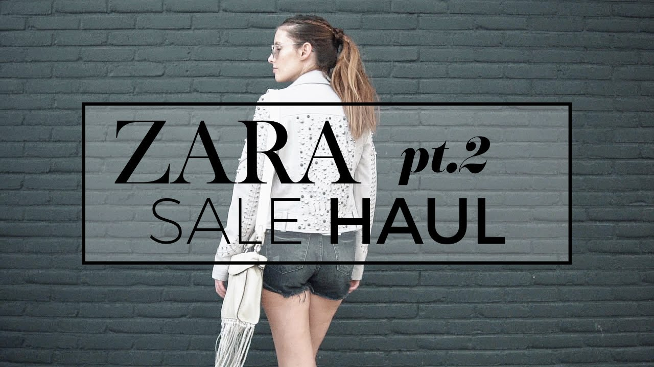 1e70d97d Zara sale haul unboxing + try-on lookbook pt. 2 | summer sale 2017 ...