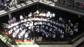 "Moanalua High School Concert Band ""Into The Storm"" @Ala Moana Centerstage - February 2010"