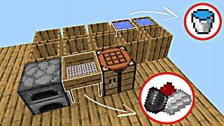 НОВЫЙ СкайБлок с Модами на СЕРВЕРЕ!   Майнкрафт Пе 1.14.60   Minecraft Bedrock Edition  