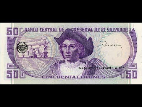 El Salvador Billetes de 50 Pesos - Colones