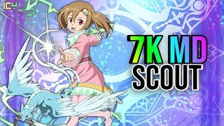 7,000 MD Scout! Heroes In Another World (Tales of Ray Collaboration) *SAO: Memory Defrag*