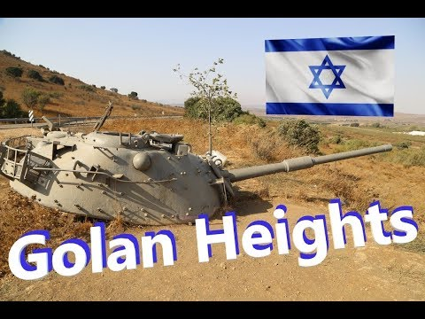 GOLAN HEIGHTS Israel, exploring the trenches