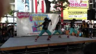 2011・9・18大阪アメリカ村三角公園にて開催 毎月実施されている...