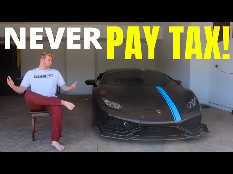 How Much I Paid In Taxes On My Lamborghini At 18
