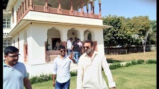 Sanjay dutt new look in his upcoming film