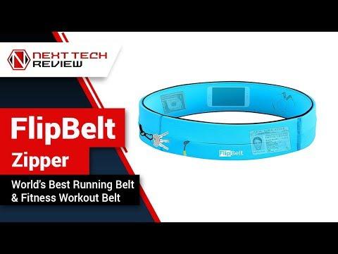FlipBelt Zipper World's Best Running Belt & Fitness Workout Belt Product Review – NTR