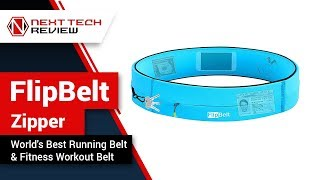 FlipBelt Zipper World's Best Running Belt & Fitness Workout Belt Product Review  – NTR