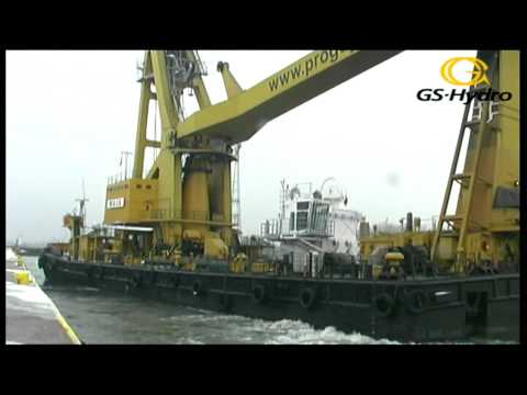 GS-Hydro - transport dźwigu offshore