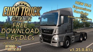 Ets 2 1 33 x beyond baltic sea freight job on russia finland scania