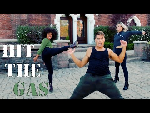 Raven Felix - Hit the Gas (Feat. Snoop Dogg) #HitTheGasDanceOn | The Fitness Marshall