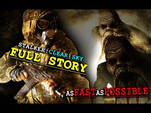 Stalker Clear Sky Full Story As Fast As Possible +Ending Explained