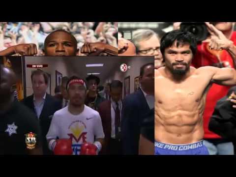 Floyd Mayweather vs Manny Pacquiao - Pelea Completa - Mayo 2015 - Parte 1