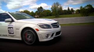 Slalom Driving -- AMG Driving Academy Performance Series Episode 3