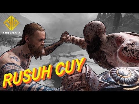 ADEKNYA THOR DIBOGEM MENTAH (God Of War 4 Gameplay Indonesia-Part.2) l #ALEXANDERGAME Eps.3