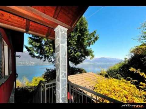 Pino sulla Sponda del Lago Maggiore: Villa 7 Locali in Vendita